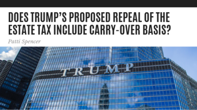 Does Trump's Proposed Repeal - Patti Spencer