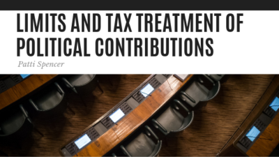 Limits and Tax Treatment - Patti Spencer