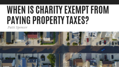 When is Charity Exempt - Patti Spencer